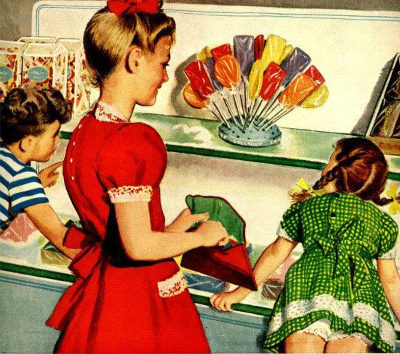 Le plein de souvenirs avec les bonbons de notre enfance