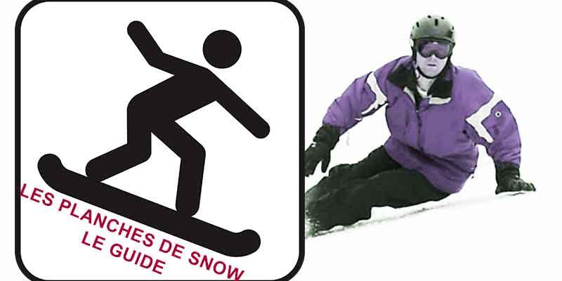 Les différents shapes de snowboard : LE GUIDE