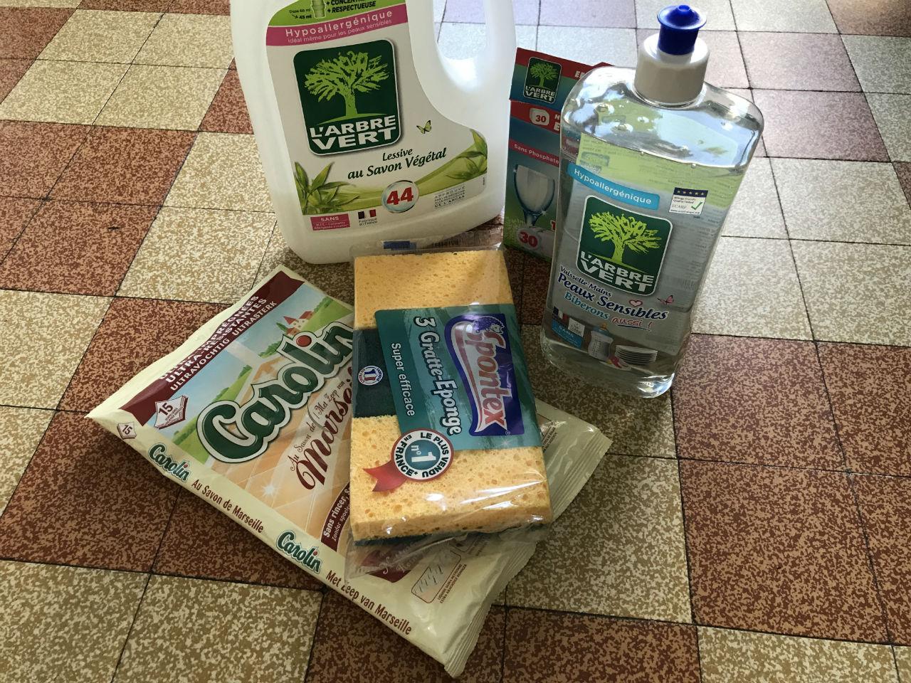 Les produits écologiques pour nettoyer sa maison